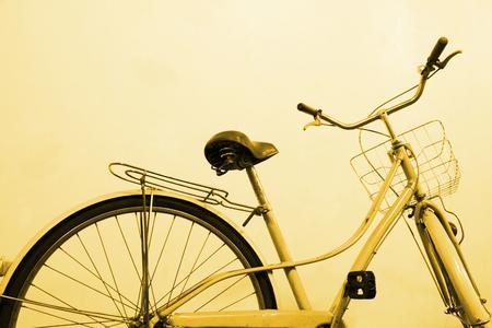 vintage bicycle color tone technique by program photo