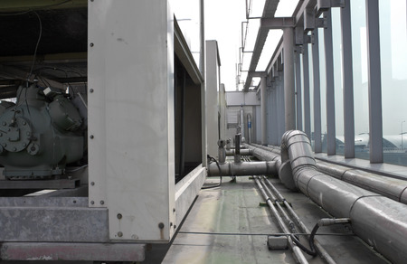 splitter: air cooling industrial system