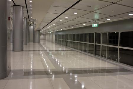 Futuristic guangzhou Airport interior