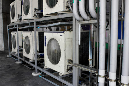 cold  Air Compressor electric powerful Фото со стока