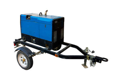 Save selection to Clipping Path, Portable Generator Trailer removed from side Imagens - 30190396