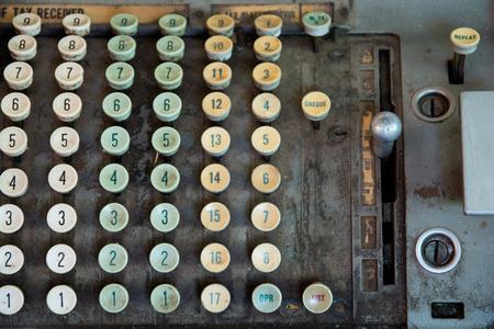 old desk: Tax-calculator old antique