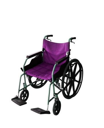 physical impairment: Colorful Wheelchair Stock Photo