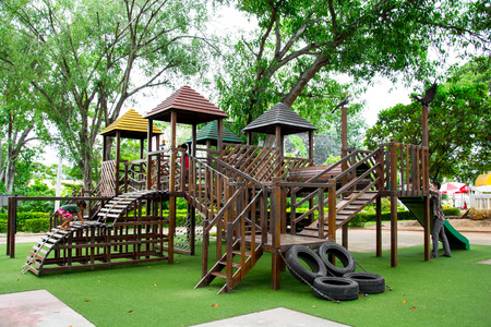 jungle gyms: Playground equipment Editorial