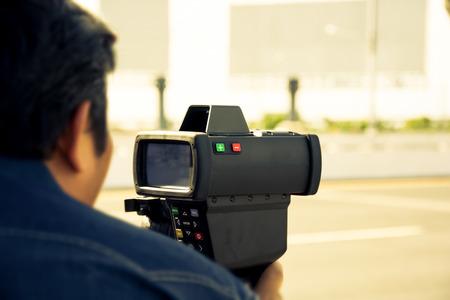 radar gun: