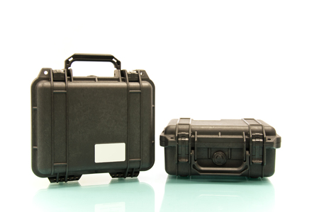 Double Case for protecting equipment Stock Photo