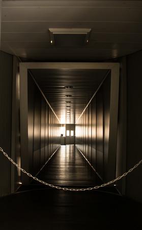 Jetway, walking towards the plane, seeing the door of the plane