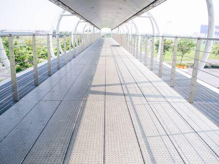 Street Bridge. Its a modern pedestrian bridge