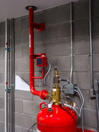 Suppression Systems, Gas Flooding System in Data Center Room