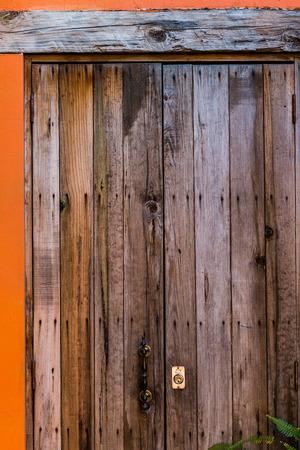 Reclaimed: Beautiful reclaimed wood door