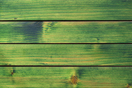 wood panel: Wood texture, old green painted wood panel background. Stock Photo