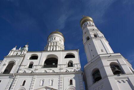Kind on a belltower being in territory kremlin