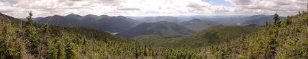 Mt  Marshall Summit Panorama Stok Fotoğraf