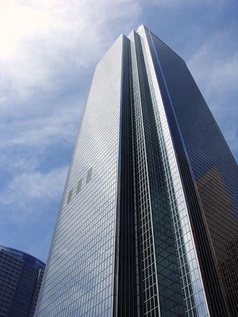 Tall Glass Business Building