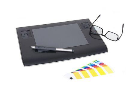 Computer Drawing Tablet Banco de Imagens