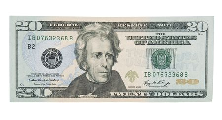 dollar bills: 20 Dollar Bill anteriore
