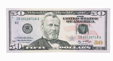 50 Dollar Bill Front Stock Photo - 2681656