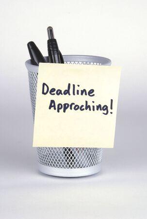 Deadline! Post-It Note