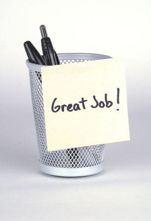 Great Job! Post-It Note
