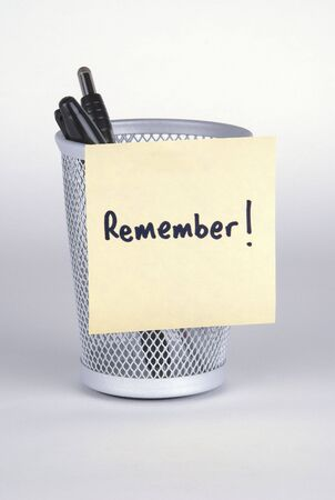 Remember! Post-It Note