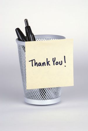 Thank You! Post-It Note photo
