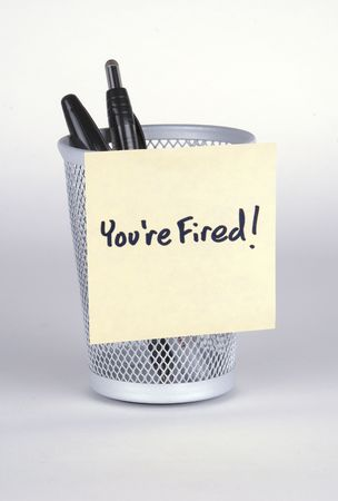 Youre Fired! Post-It Note