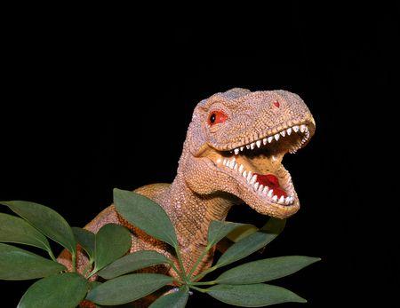 Dinosaur and Folaige photo