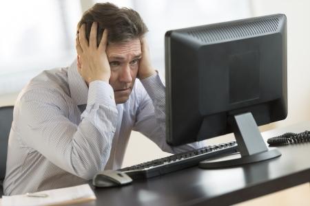 monitor de computador: Exausto de neg Imagens
