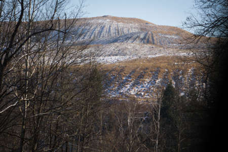 View of a Mountaintop Removal Operation