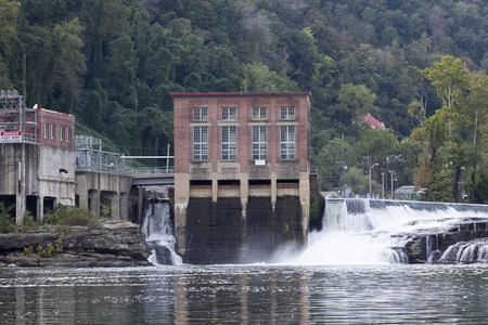 electric power station: hydroelectric plant