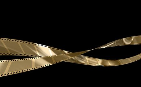 thriller: filmstreifen Stock Photo