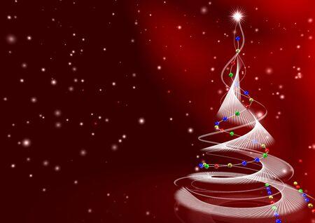 weihnachtsbaum-rot Stock Photo - 2427461