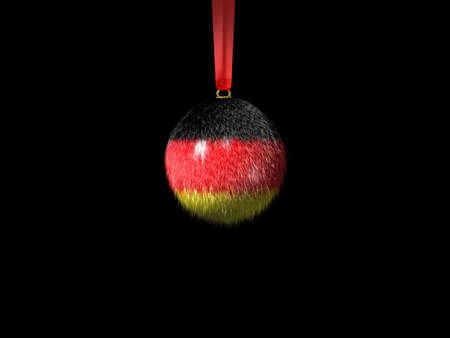 weihnachtskugel-deutschland Stock Photo - 2427517