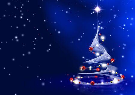 Weihnachtstannenbaum Stock Photo