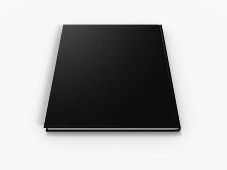 blank book page isolated on white background Stock Photo - 2782536