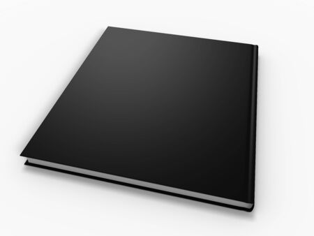 blank book page isolated on white background Stock Photo - 2885622