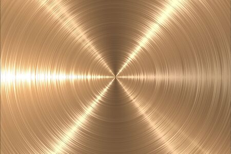 brushed aluminium: Metal gold texture background Stock Photo