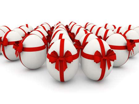 white eggs photo