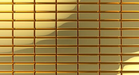 Glossy gold bar rectangles background