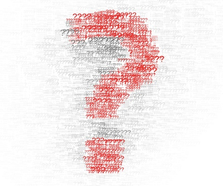 Question mark special design element Stock Photo - 17266779
