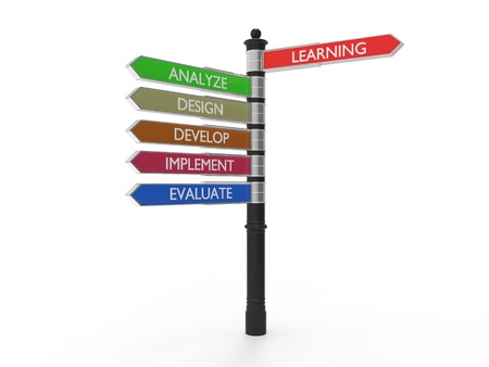 Learning development process signs