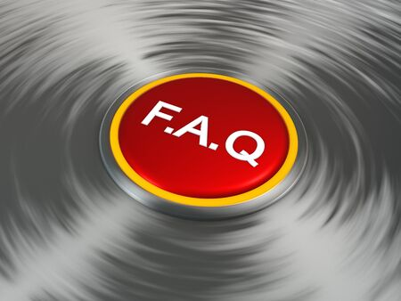 Press the FAQ button to learn more Stock Photo - 17353336