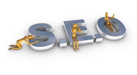 Search engine SEO concept Stock Photo - 17353310