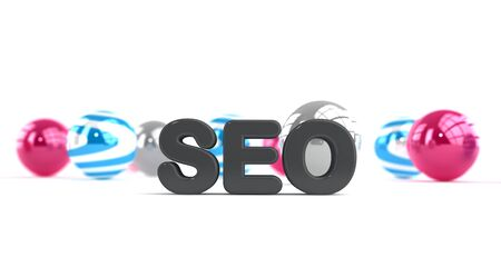 SEO - Search engine optimisation Stock Photo - 17385041