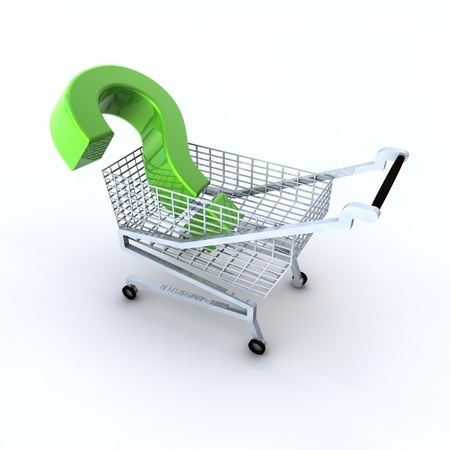 What shall we buy Stock Photo - 17385086