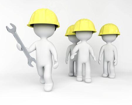 get ready: I lavoratori si preparano