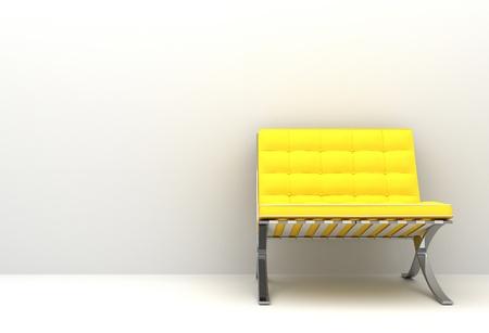Yellow chair 写真素材