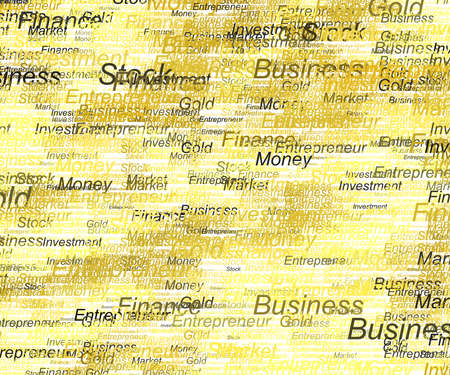 All business money and finance background