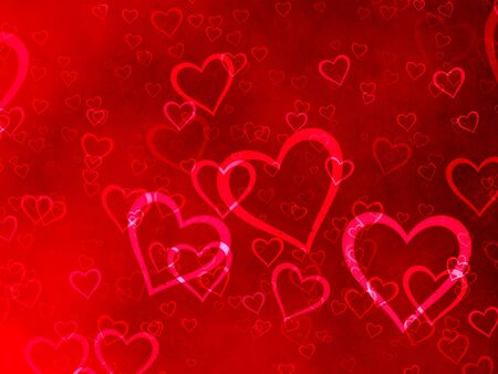 Beautiful heart background