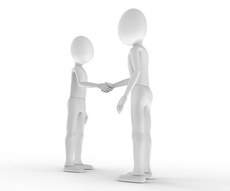 Shaking hands to seal the deal
